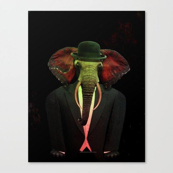 Elephant Man 017 Canvas Print