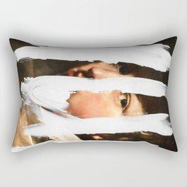 Untitled (Finger Paint 2) Rectangular Pillow