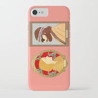 royal tenenbaums iPhone & iPod Cases featuring The Royal Tenenbaums by Anna Valle