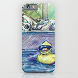 Rubber Ducks and Lazy Days iPhone Case