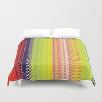 vector Duvet Covers featuring Vector Equilibriums by Elias Zacarias