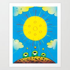 Solar Power Art Print