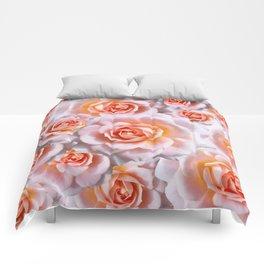 Roses in pastel2 Comforters