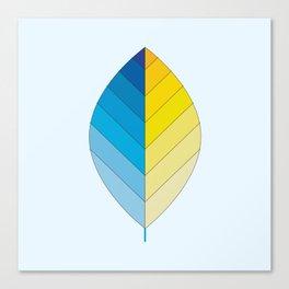 Ocean Leaf Canvas Print