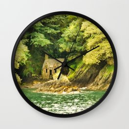 The little house Wall Clock