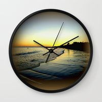 karma Wall Clocks featuring Karma by Chris' Landscape Images & Designs
