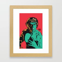 See Me Angry Framed Art Print