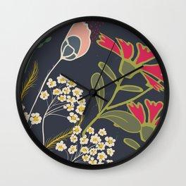 Meadow Dim Wall Clock