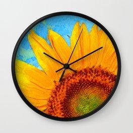 Sunflower Van Gogh 2 Wall Clock