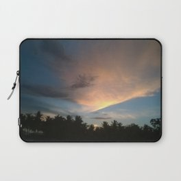 Fox In Socks - Clouds Laptop Sleeve