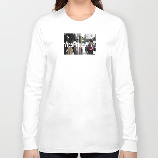 Reality 1 Collage Long Sleeve T-shirt