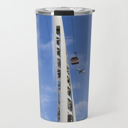 Emirates Cable Car And British Airways Travel Mug