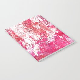 Roses Play Color On Ice Notebook