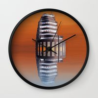 art deco Wall Clocks featuring Art Deco by Shalisa Photography