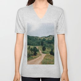 Switzerland Trail 4x4 Unisex V-Neck