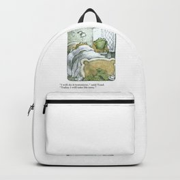 Life Quote Backpack