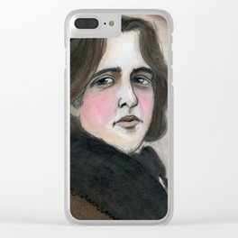 The Importance of Being Oscar Wilde Clear iPhone Case