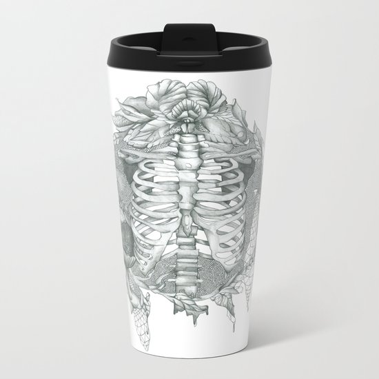 B L O S S O M Metal Travel Mug