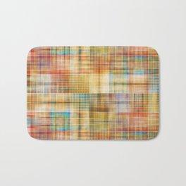 Multicolored patchwork mosaic pattern Bath Mat