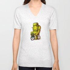 Bike Monster 1 Unisex V-Neck