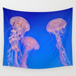 Bloom of Jellies Wall Tapestry