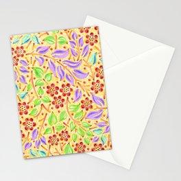 Sunshine Filigree Floral Stationery Cards