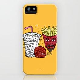 Aqua Teen Hunger Force iPhone Case