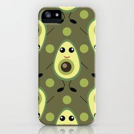 Cute Avocado iPhone Case