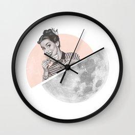 The Moon III Wall Clock