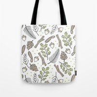 forrest Tote Bags featuring Forrest by Hennel Paper Co.