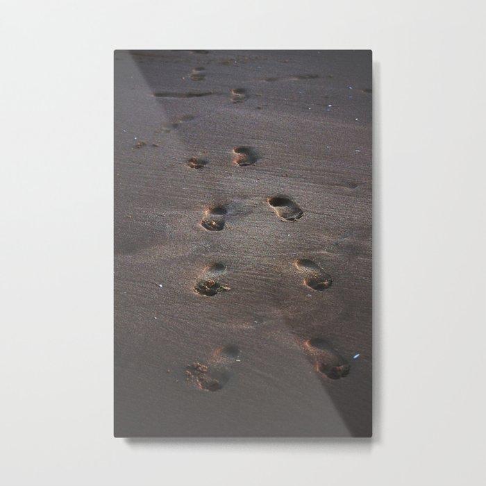 Burn In the Sand Metal Print
