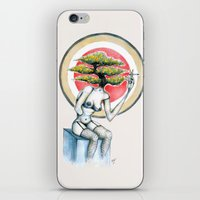health iPhone & iPod Skins featuring Health by M. Adeline Nef