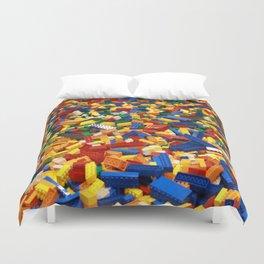 A Sea Full of Legos Duvet Cover