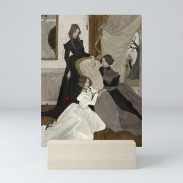 The Fox Sisters Mini Art Print