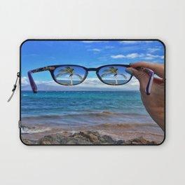 Hawaii Sunglasses Palmtrees Laptop Sleeve