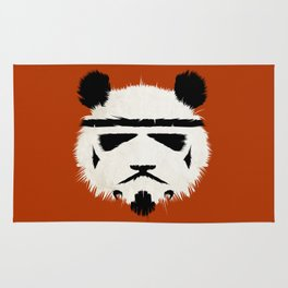 Panda Trooper Rug