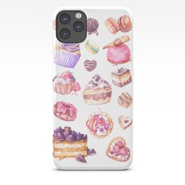 Sweet as Cake: Dessert Illustrations iPhone Case
