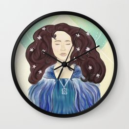 Death of a Queen Wall Clock