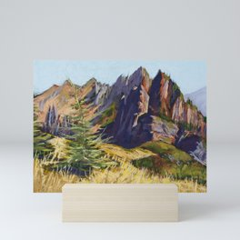 Pastel Painting | The Colors of Early Autumn Mini Art Print