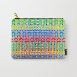 Neon Vege Print Carry-All Pouch
