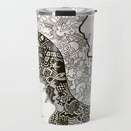 BBC Sherlock fan art: Sherlock and Molly yin-yang Travel Mug