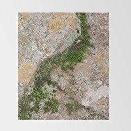 Yin Yang Moss Stone Throw Blanket