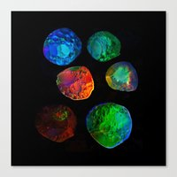 planets Canvas Prints featuring planets by clemm