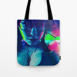 Cybernetic Celluloid Tote Bag