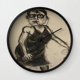 Teddy Bigthumbs Wall Clock