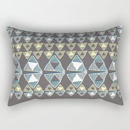 Ethnic Ornament / Canarys Curtain Rectangular Pillow