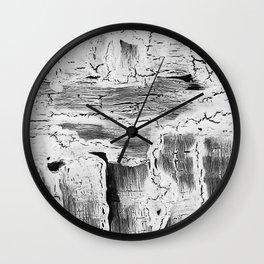 Abstract Artwork Greyscale #2 Wall Clock