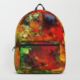 Combustible Backpack