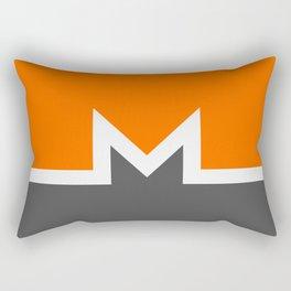 Monero Cryptocurrency Rectangular Pillow
