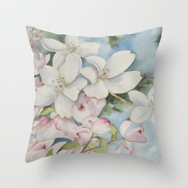 Jewels of Spring Throw Pillow